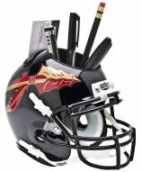 Florida State Seminoles Black Schutt Football Helmet Desk Caddy