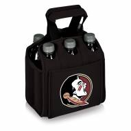 Florida State Seminoles Black Six Pack Cooler Tote