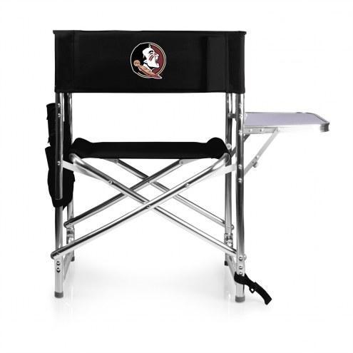 Florida State Seminoles Black Sports Folding Chair