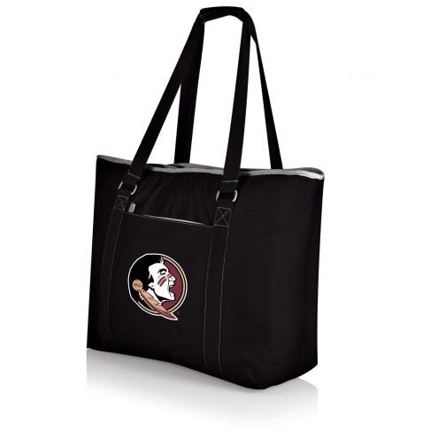 Florida State Seminoles Black Tahoe Beach Bag
