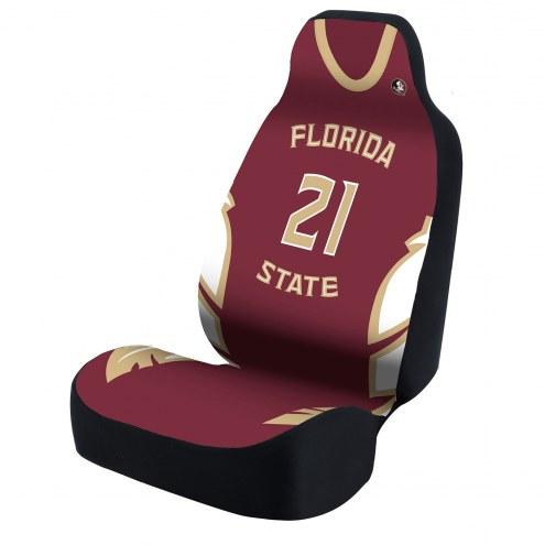 Florida State Seminoles Burgundy Jersey Universal Bucket Car Seat Cover