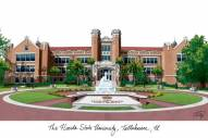 Florida State Seminoles Campus Images Lithograph