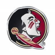 Florida State Seminoles Color Car Emblem