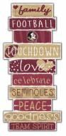 Florida State Seminoles Celebrations Stack Sign