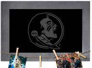 Florida State Seminoles Chalkboard with Frame