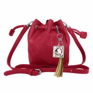 Florida State Seminoles Charming Mini Bucket Bag