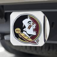 Florida State Seminoles Chrome Color Hitch Cover
