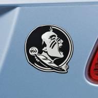 Florida State Seminoles Chrome Metal Car Emblem