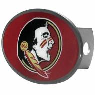 Florida State Seminoles Class II and III Oval Metal Hitch Cover