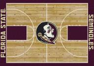 Florida State Seminoles College Home Court Area Rug