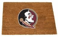 Florida State Seminoles Colored Logo Door Mat