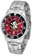 Florida State Seminoles Competitor Steel AnoChrome Color Bezel Men's Watch