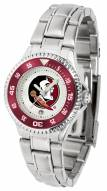 Florida State Seminoles Competitor Steel Women's Watch
