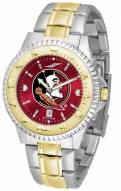 Florida State Seminoles Competitor Two-Tone AnoChrome Men's Watch