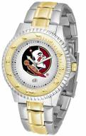Florida State Seminoles Competitor Two-Tone Men's Watch