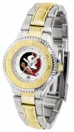 Florida State Seminoles Competitor Two-Tone Women's Watch