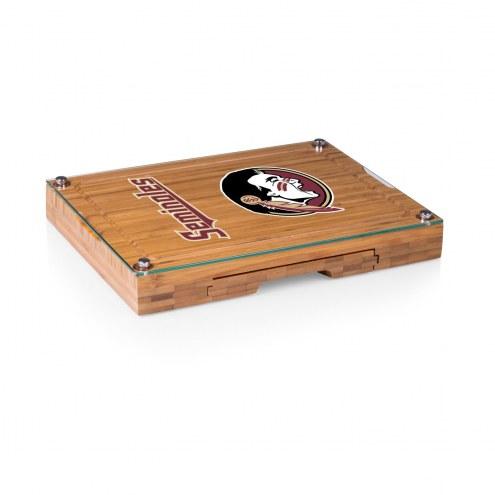 Florida State Seminoles Concerto Bamboo Cutting Board