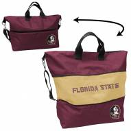 Florida State Seminoles Crosshatch Expandable Tote