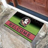 Florida State Seminoles Crumb Rubber Door Mat