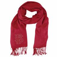 Florida State Seminoles Dark Red Pashi Fan Scarf