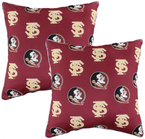 Florida State Seminoles Decorative Pillow Set