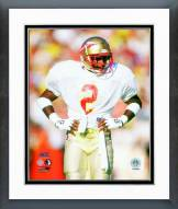 Florida State Seminoles Deion Sanders 1987 Action Framed Photo
