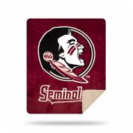 Florida State Seminoles Denali Sliver Knit Throw Blanket