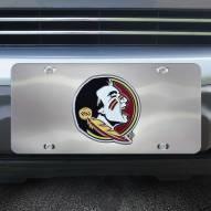 Florida State Seminoles Diecast License Plate