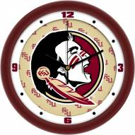 Florida State Seminoles Dimension Wall Clock