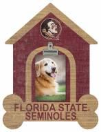 Florida State Seminoles Dog Bone House Clip Frame