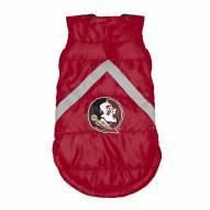 Florida State Seminoles Dog Puffer Vest