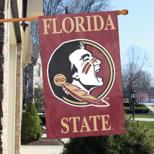Florida State Seminoles NCAA Applique 2-Sided Banner Flag