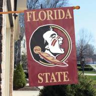 Florida State Seminoles NCAA Embroidered / Applique College Flag Banner