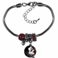 Florida State Seminoles Euro Bead Bracelet