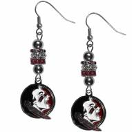Florida State Seminoles Euro Bead Earrings