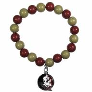 Florida State Seminoles Fan Bead Bracelet