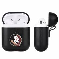 Florida State Seminoles Fan Brander Apple Air Pods Leather Case