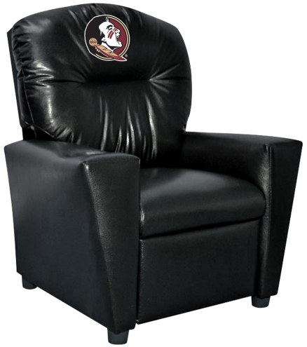 Florida State Seminoles Faux Leather Kid's Recliner