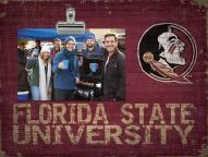 Florida State Seminoles Wood Clip Frame