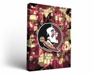 Florida State Seminoles Fight Song Canvas Wall Art