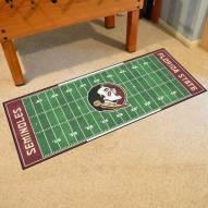 Florida State Seminoles Football Field Runner Rug