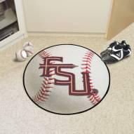 "Florida State Seminoles ""FS"" Baseball Rug"