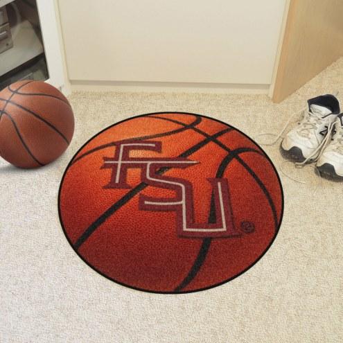 "Florida State Seminoles ""FS"" Basketball Mat"