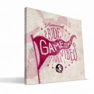 Florida State Seminoles Gameday Vibes Canvas Print