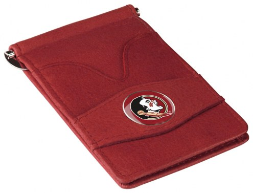 Florida State Seminoles Garnet Player's Wallet