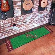 Florida State Seminoles Golf Putting Green Mat