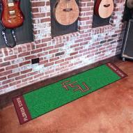 Florida State Seminoles Golf Putting Green Mat