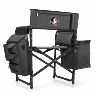 Florida State Seminoles Gray/Black Fusion Folding Chair