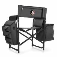 Florida State Seminoles Gray/Black Fusion Folding Chair