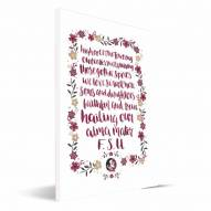 Florida State Seminoles Hand-Painted Song Canvas Print